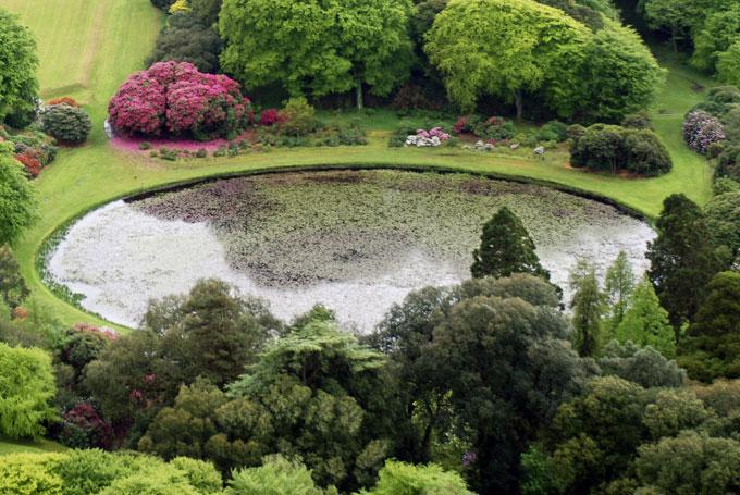 The Round Pond Castle Kennedy Gardens
