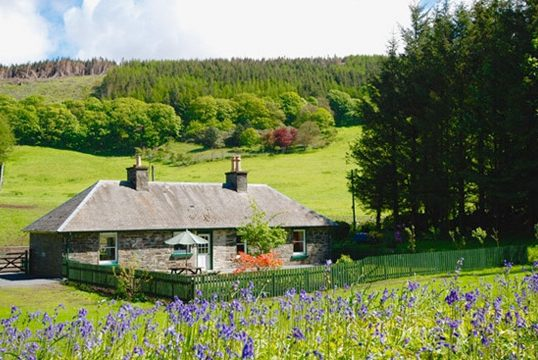 Ice House Cottage, Lochinch Castle Holiday Cottages