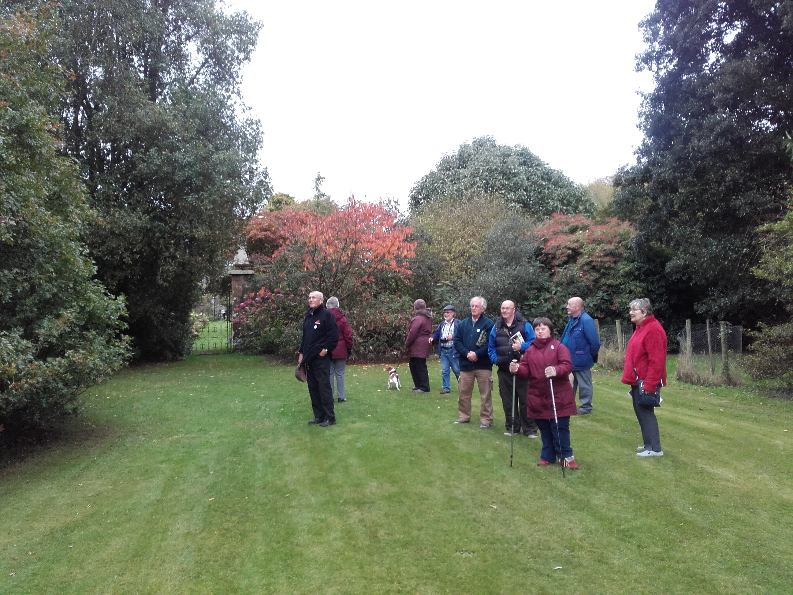 Blog - Autumn Glory Guided walk with people