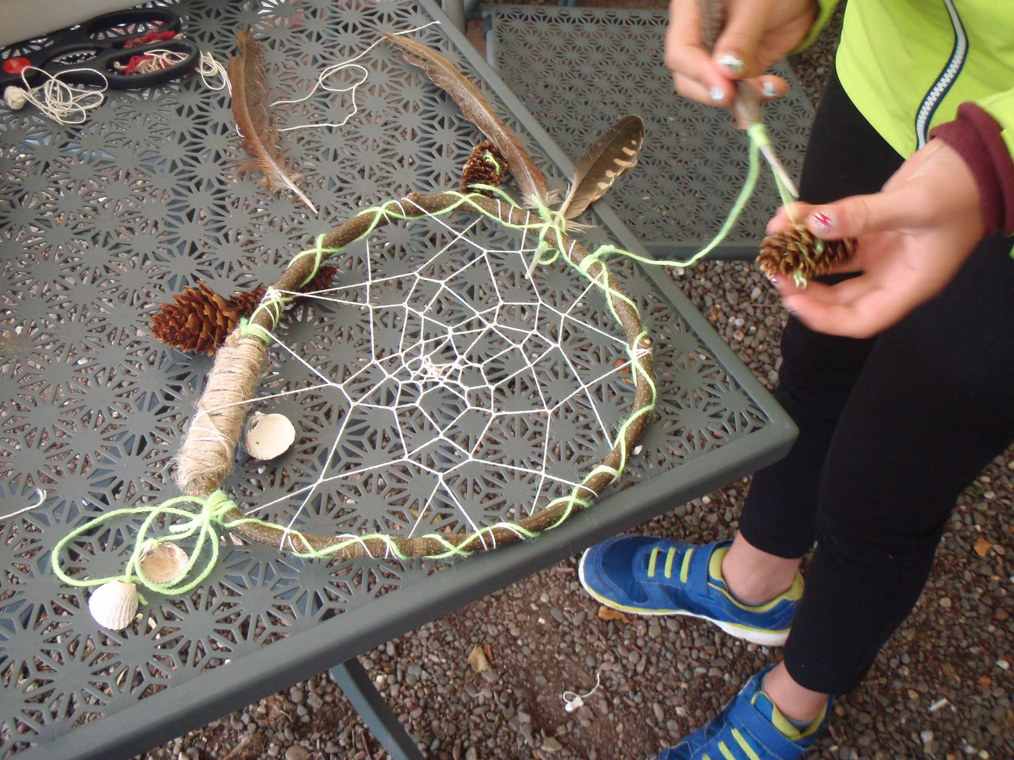 Sweet dreams with this dreamcatcher